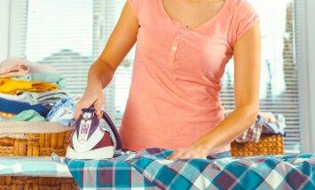 Eri kangaste triikimisel valige hooldusjuhendil kirjas olev triikimisrežiim.