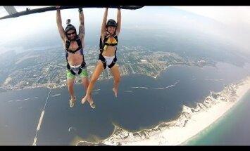 Väga hull VIDEO | Sellist langevarjuhüpet pole sa elus varem näinud!