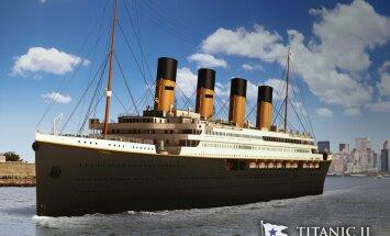FOTOD JA VIDEO! Hukule määratud laeva täpne koopia: Aastal 2018 teeb oma esimese reisi luksuslaev Titanic II