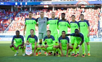 Liverpooli algrivistus kohtumises AC Milaniga