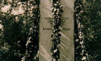 Rannu vabadussõja keerulise saatusega mälestusmärgi lugu
