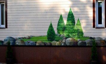 FOTOD   Elumaja maalingud on aiavaate pikenduseks