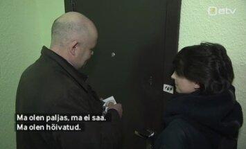 VAATA: Valimiskampaania tarbeks ukselt uksele käinud Andres Anvelt ehmatas alasti naist
