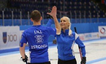Curlingu MM-il võistlev segapaar Marie Turmann / Harri Lill