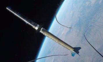 VIDEO: Vaata, milline pilt avaneb startiva kosmoseraketi külge kinnitatud GoPro kaamerast