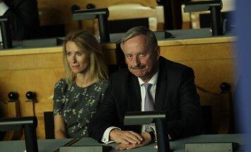 Siim Kallas pidi tütarKaja kõrval tunnistama, et häältesaak jäi oodatust napimaks.
