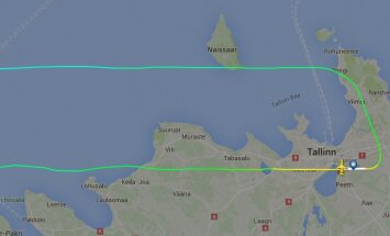 Stockholmi teel olnud Nordica lennuk pöördus tehnilise rikke tõttu Tallinnasse tagasi
