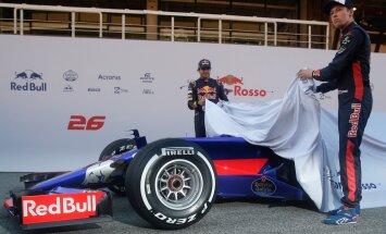 FOTOD: Toro Rosso F1 auto on esimest korda 12 aasta jooksul uutes värvides