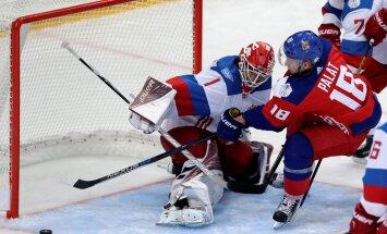 Jäähoki Tsehhi vs Venemaa