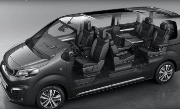 Motorsi proovisõit: Peugeot Traveller - tagaluugi aken on avatav
