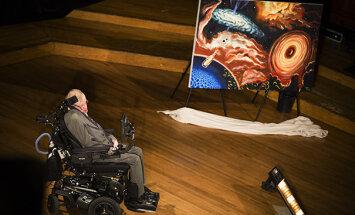 Stephen Hawkingi loeng: Mis saab musta auku kadunud ainest?
