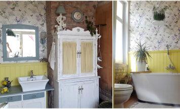 FOTOVÕISTLUS │ Romantilise hõnguga vannituba stalinistlikus majas