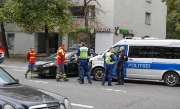 Politsei sattus avariisse