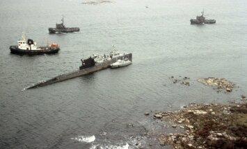 Paldiski sadamast järjekordsele patrullreidile Läänemerel suundunud NSV Liidu diiselallveelaev pardanumbriga U-137 sõitis Rootsis Karlskrona lähistel madalikule.