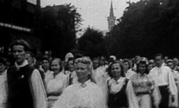 1946: Esimese stalinliku laulupeo eel koguneti juba aasta varem
