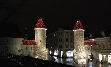 ФОТО читателя Delfi: Наша бесснежная предрождественская столица