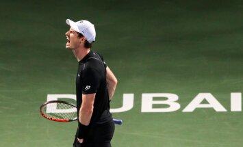ULME: Murray pidas Dubais 31-minutilise kiire lõppmängu