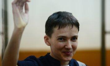 OTSEBLOGI: Nadia Savtšenko vahetati Vene GRU-laste vastu välja ja on teel Kiievisse