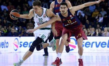 Barcelonale alla jäänud Žalgiris jätkab Euroliiga vahegrupis ühe võidu ja kuue kaotusega