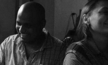 Ericka Ares Luik ja Kumar Prasad Bhat