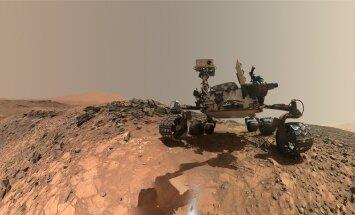 Marsikulgur Curiosity pole oma asukohas veel vett leidnud.