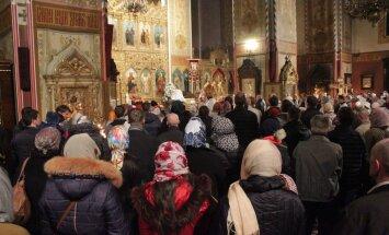 Nevski katedraalis jumalateenistus