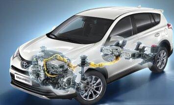 Motorsi proovisõit: Toyota RAV4 Hybrid - põhiline uudis peitub kapoti all