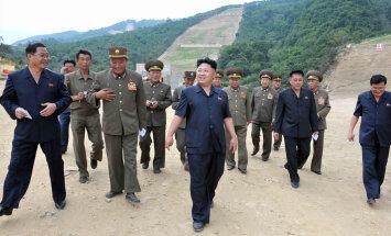 Kim Jong-un külastas Põhja-Korea uut