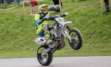 SuperMoto sõitja Patrick Pals