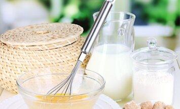 Muna ja piim sobivad hästi ka kosutavate jookide valmistamiseks.
