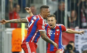 Müncheni Bayern vastas üllatuskaotusele 6:1 võiduga ja pääses poolfinaali