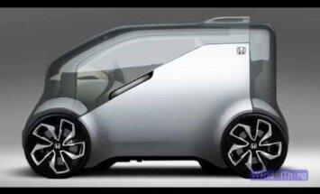 Nuta ja naera koos oma autoga - Honda uus mudel nimega NeuV saab emotsionaalse tehisintellekti