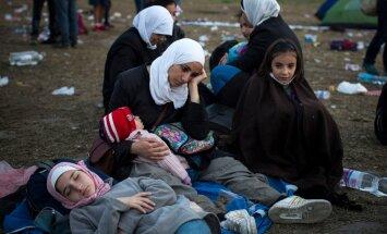 FOTOD: Pagulaste teekond Euroopas läbi Kreeka, Makedoonia, Serbia, Ungari ja Austria Saksamaale kujutab endast karmi kannatuste rada