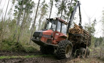 Kuidas vältida metsas liikuva tehnikaga seakatku leviku riske