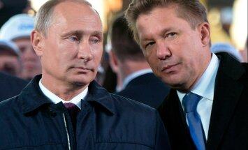 Aleksei Miller, Vladimir Putin
