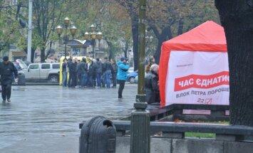Kampaaniatelgid Lvivis
