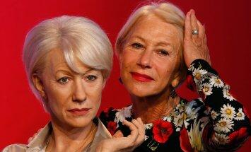 Helen Mirren ja vahakujud