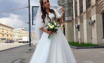 ФОТО: В день свадьбы Анна Калашникова приехала в ЗАГС одна