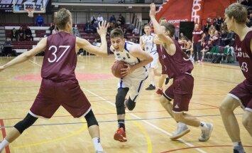 Korvpall Eesti vs Läti U18 mehed