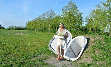 Uus on äraunustatud vana? Hollandi disainer ehitas maa-aluse keldri