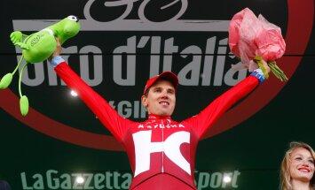 FOTOD: LIHTSALT VÕIMAS! Rein Taaramäe võitis Itaalia velotuuri ränkraske 20. etapi!