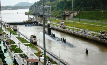 VIDEOD: Panama kanal võimaldab ka tuumaallveelaevaga sealt läbi sõita