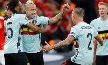 Soccer Euro 2016 Wales Belgium