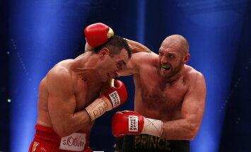 Vladimir Klitško ja Tyson Fury
