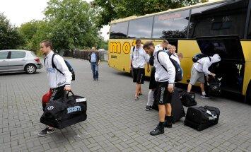 Eesti korvpallikoondis saabus Poola