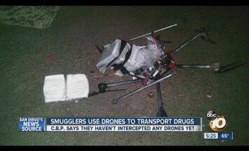 Narkodroonid on narkoallveelaevade järel uimastisõja uus argipäev