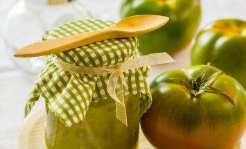 RETSEPTID   Mida valmistada rohelistest tomatitest?