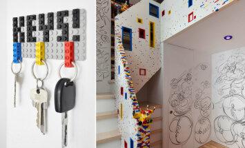 Vaata lahedaid ideid, kuidas LEGO klotsidega kodu kaunistada