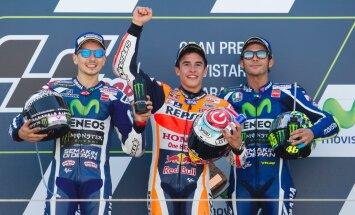 Ärevast algusest üle saanud Marquez võitis hooaja neljanda MotoGP etapi