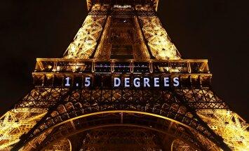 Pariisi kliimakonverentsi siduv lubadus, et maakera temperatuur ei tohi tõusta rohkem kui 1,5 kraadi, ei näi juba ette vett pidavat.